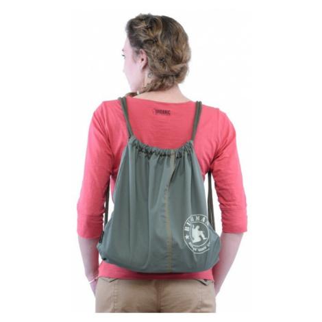 Bavlněný vak BUSHMAN BAG zelená
