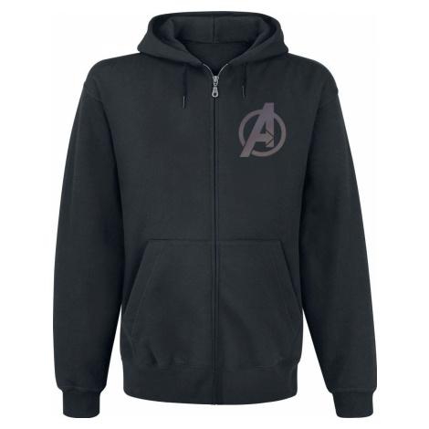 The Falcon And the Winter Soldier Logo Mikina s kapucí na zip černá