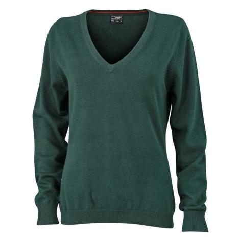 James & Nicholson Dámský bavlněný svetr JN658