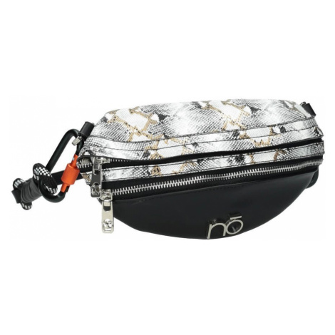 Kompaktní taška přes rameno croco bag ledvinka NOBO