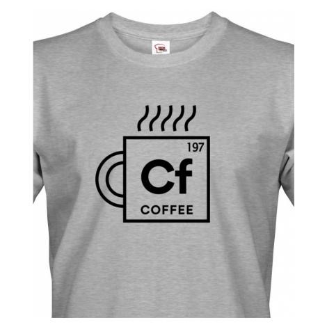 Pánské tričko Coffee - motiv s kávou udělá radost BezvaTriko