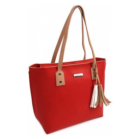 Dámská kabelka Doca 15046 - červená