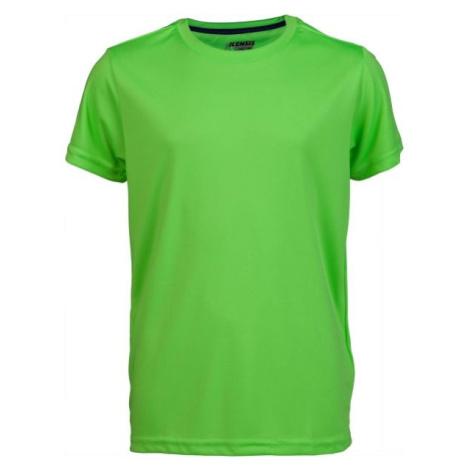 Kensis REDUS světle zelená - Chlapecké sportovní triko