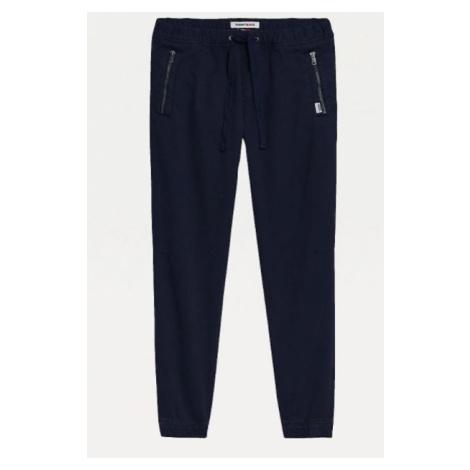 Tommy Hilfiger Tommy Jeans tmavě modré kalhoty SCANTON SLIM FIT JOGGERS