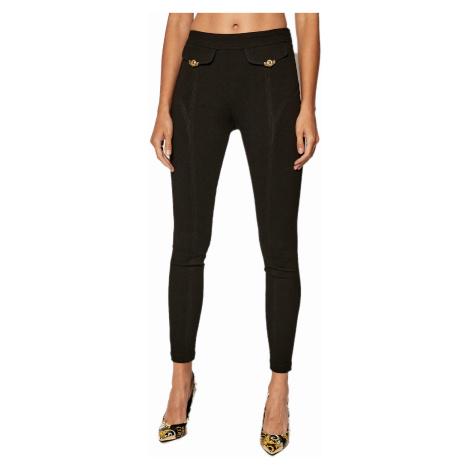 Černé elastické kalhoty - VERSACE JEANS COUTURE