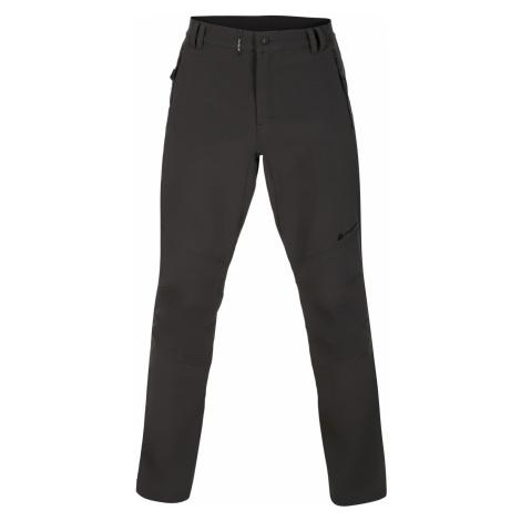 ALPINE PRO CARB 3 INS. Pánské softshellové kalhoty MPAP378779 tmavě šedá