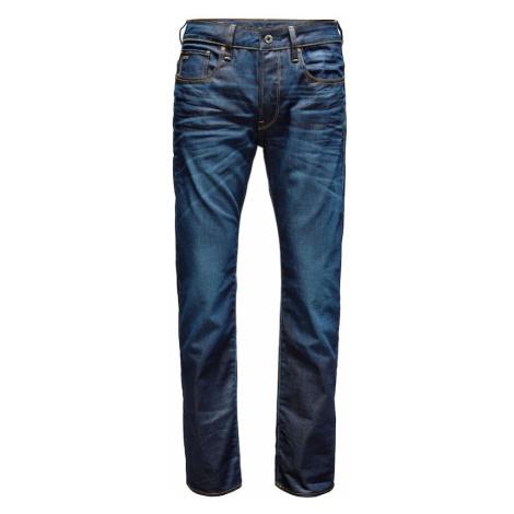 G-STAR RAW Džíny '3301 Straight' tmavě modrá