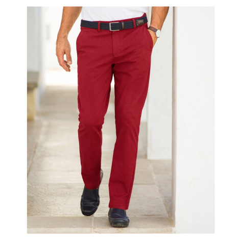 Blancheporte Chino kalhoty červená