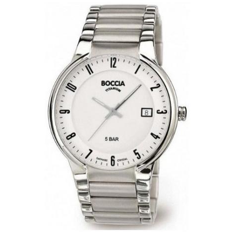 BOCCIA 3629-02, Pánské náramkové hodinky