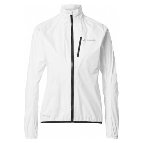 VAUDE Sportovní bunda 'Drop III' bílá / černá / čedičová šedá