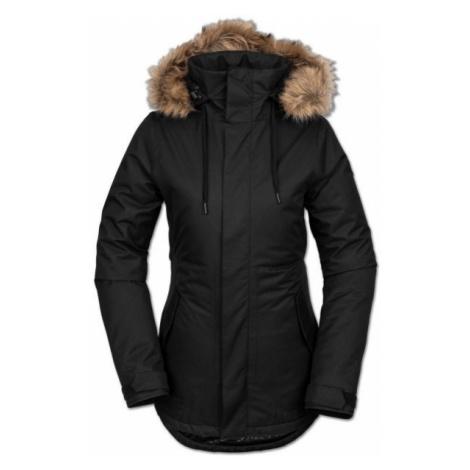 Volcom FAWN INS JACKET černá - Dámská lyžařská/snowboardová bunda