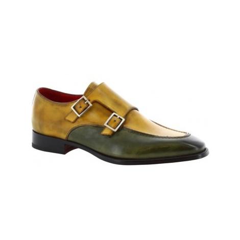 Leonardo Shoes 8742E19 TOM VITELLO DELAVE VERDE Zelená