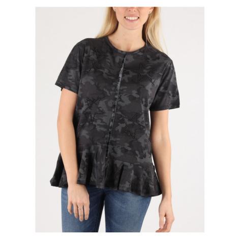 Tričko Replay W3950B T-Shirt Černá