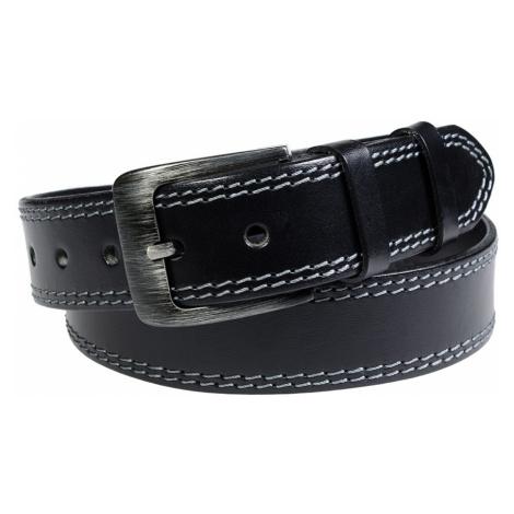 Pánský kožený opasek Penny Belts Lorenzo černý