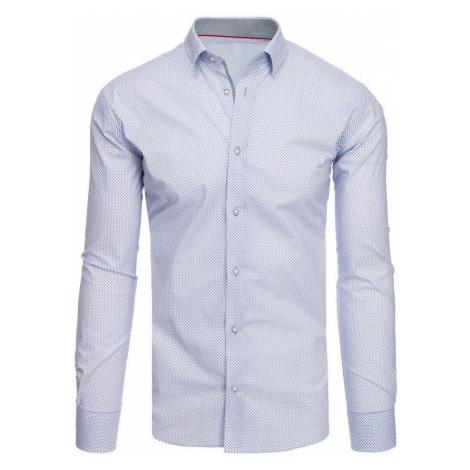 Dstreet Vzorovaná bílá košile