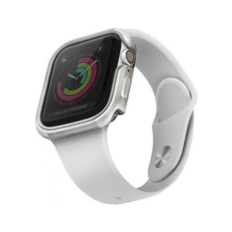 Uniq Valencia pro Apple Watch 40mm Blush Titanium stříbrný