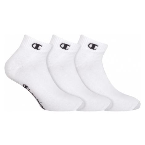 Ponožky Unisex Champion 8QH 3PACK bílá | bílá