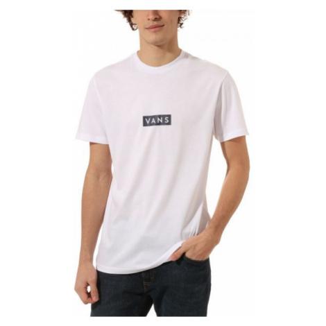 Vans MN VANS EASY BOX SS bílá - Pánské tričko