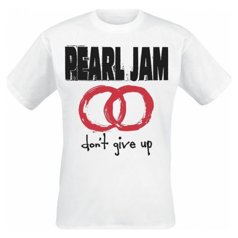 Pearl Jam Don't Give Up Tričko bílá