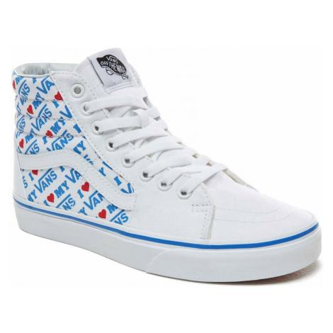 Boty Vans SK8-Hi I Heart Vans true white
