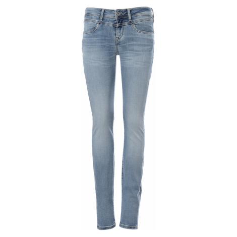 Mustang jeans Jasmin Jeggings dámské modré