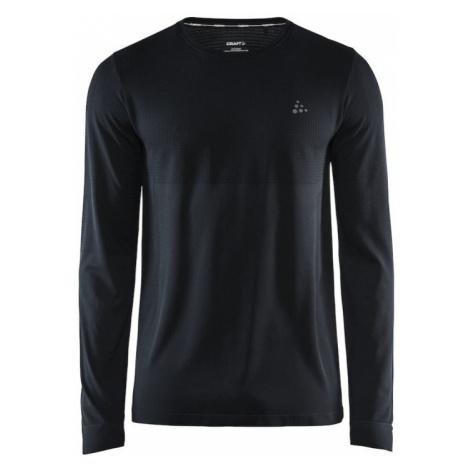 Pánské tričko CRAFT Fuseknit Light LS černá