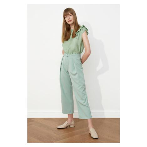 Trendyol Mint Belt Pants