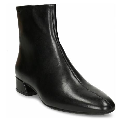 Kožená černá dámská kotníková obuv Vagabond