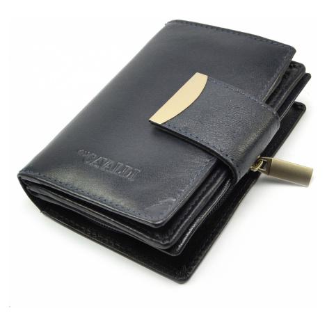 Malá dámská kožená peněženka Cavaldi