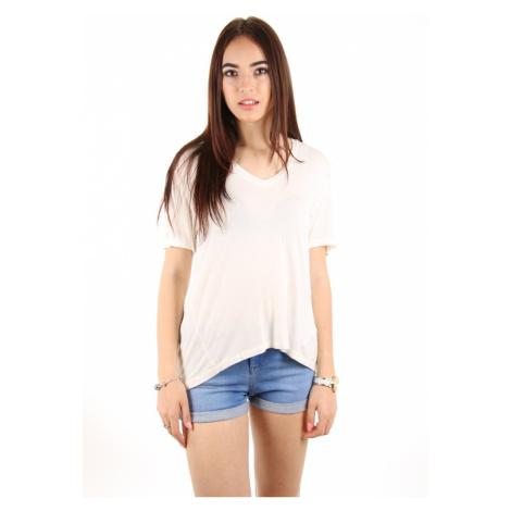 Calvin Klein dámské smetanové tričko