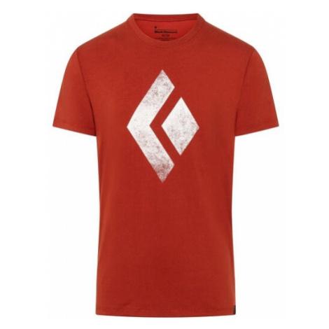 Black Diamond triko KR pánské Chalked Up, červená