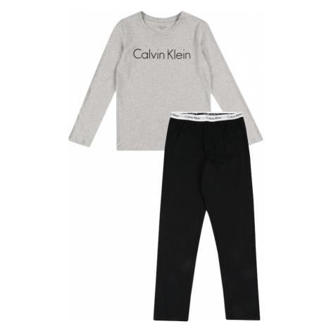 Calvin Klein Underwear Pyžamo šedá / černá