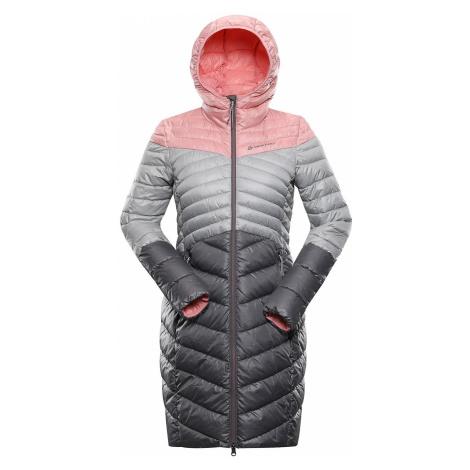 Dámský hi-therm kabát Alpine Pro LEVRA - světle růžová