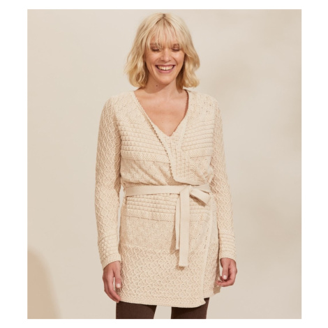 Svetr Odd Molly Stay Magic Cardigan - Bílá