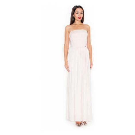 Dámské šaty Katrus K252 růžové   růžová
