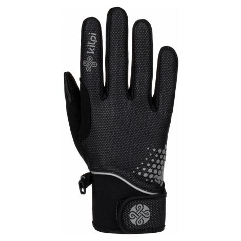 KILPI Uni softshellové rukavice NEDEL-U LU0012KIBLK Černá