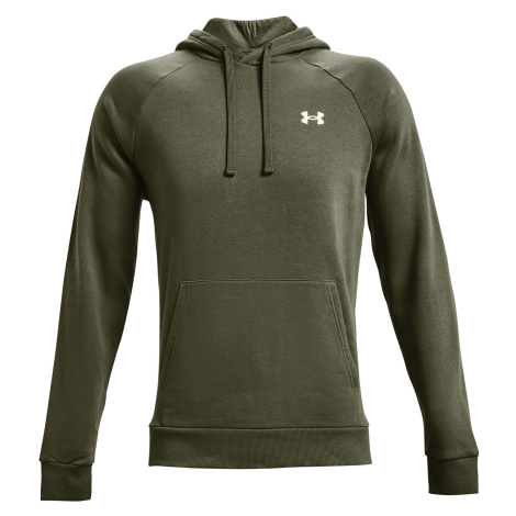 Under Armour Rival Cotton Hoodie - green