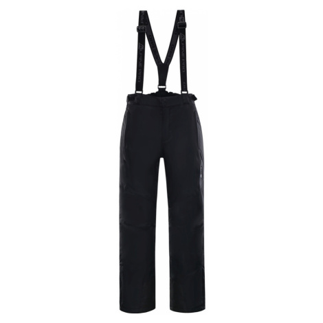 ALPINE PRO SANGO 4 Pánské lyžařské kalhoty MPAK212990 černá
