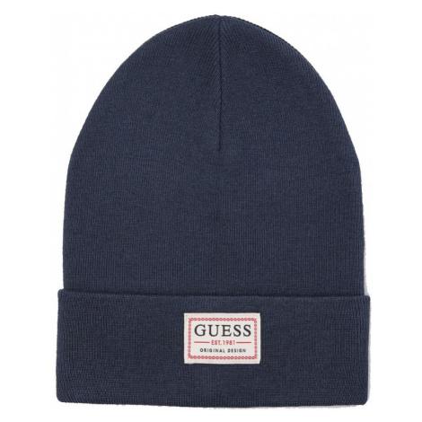 Guess GUESS pánská tmavě modrá čepice