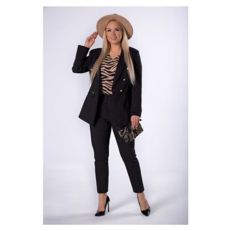 Cigarette trousers with crease legs