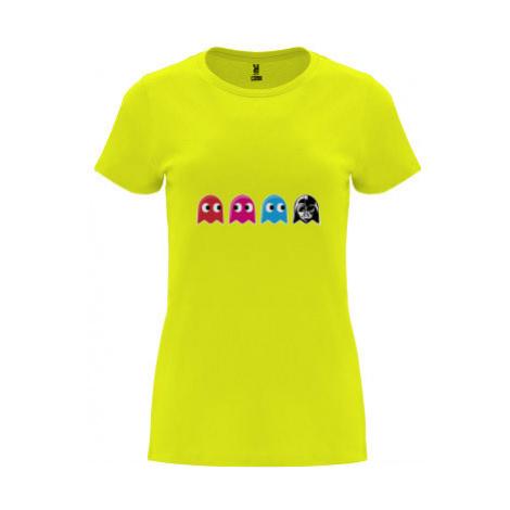 Dámské tričko Premium Pacman Star Wars