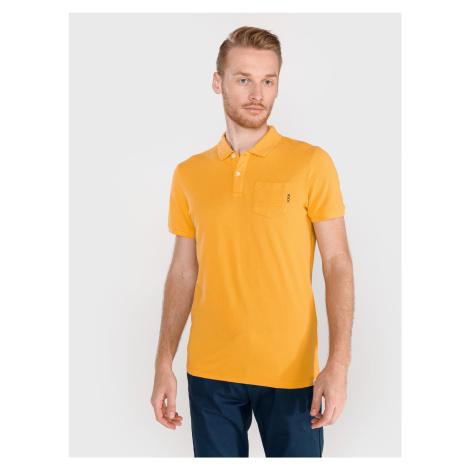 Polo triko Scotch & Soda Žlutá