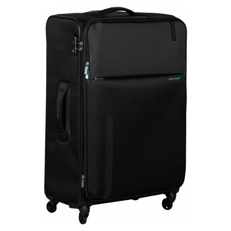 Černý cestovní kufr na kolečkách Roncato