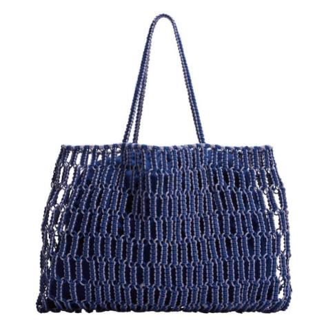 MANGO Nákupní taška 'Embolo' modrá