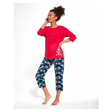 Dámské pyžamo Cornette 391/248 Katherine 3/4 růžová