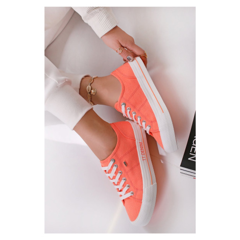 Oranžové nízke tenisky 1195203 Tom Tailor