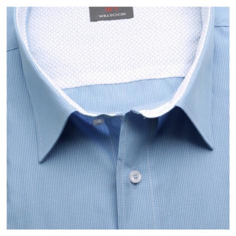 Pánská košile Classic (výška 176-182 i 188-194) 5879 v modré barvě Willsoor