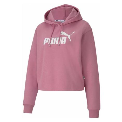 Puma Logo Crop OTH Hoody Womens