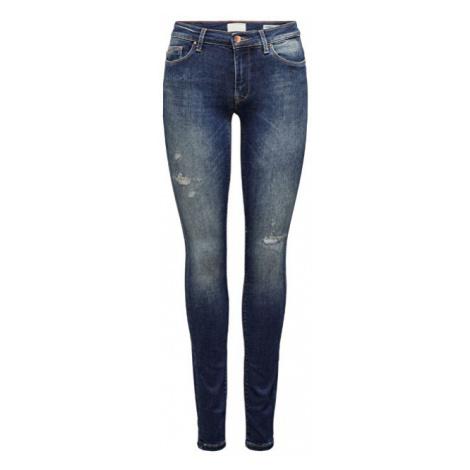 ONLY Dámské skinny džíny ONLCARMEN Dark Blue Denim 29/30