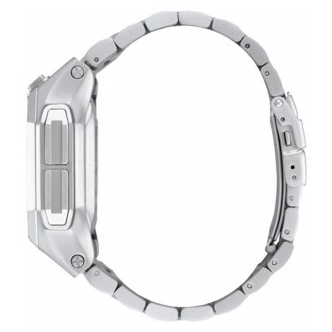 Nixon Digitální hodinky 'Regulus SS' černá / stříbrná